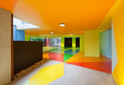 Cool Car Park designed by Craig Redman and Karl Maier
