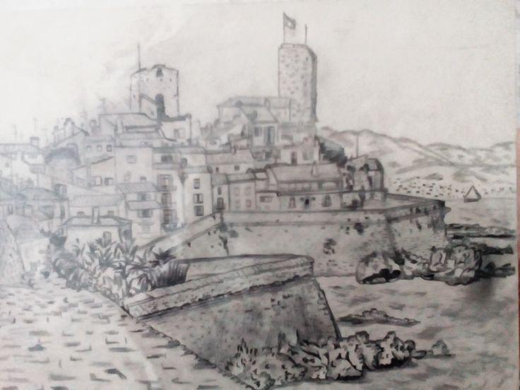 Antibes, A4- tužka