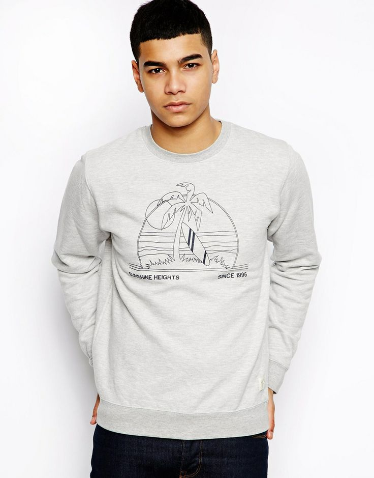 Bellfield Sweatshirt With Resort Print