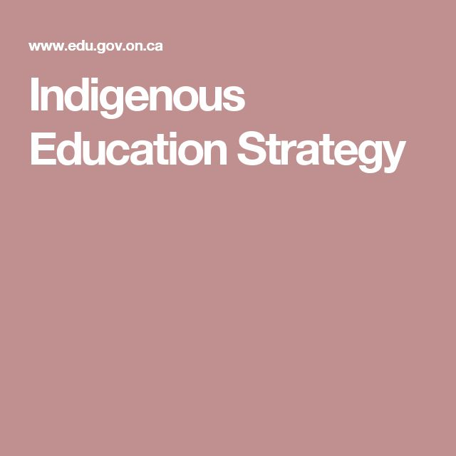 Indigenous Education Strategy