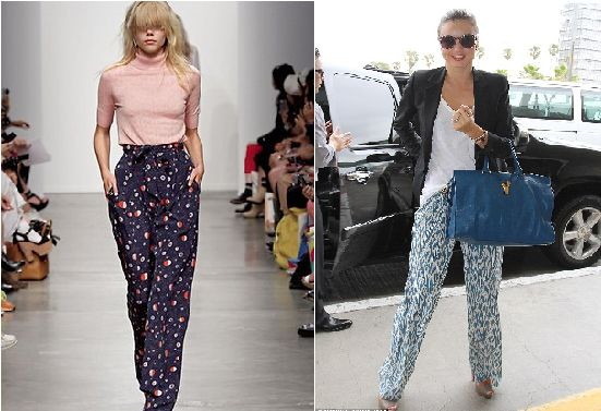 HOW TO ROCK YOUR PAJAMAS-STYLE TROUSERS – Obsessed