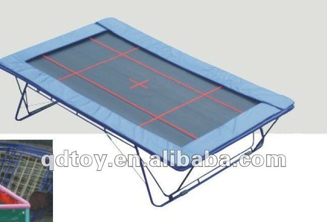 2012 high quality  simple Rectangle Trampoline $1001.59