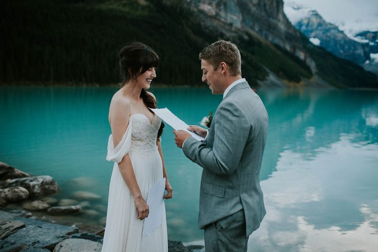 Lake Louise Elopement