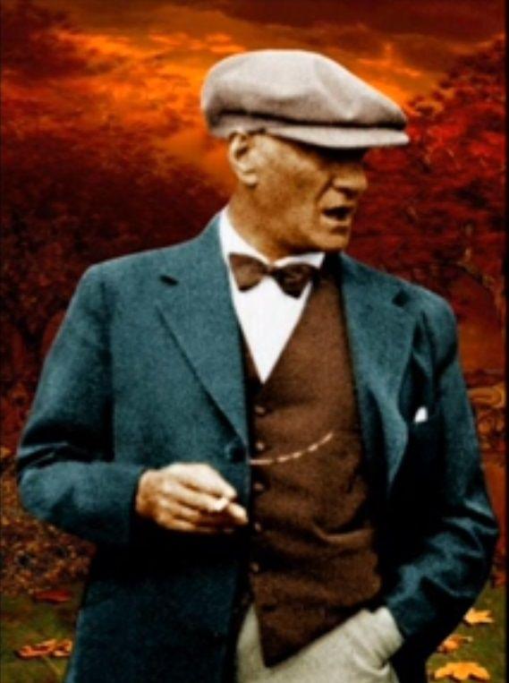 Mustafa Kemal Ataturk #mustafakemal #ataturk nearly 85-90 years ago!