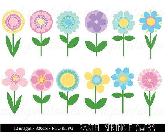 Flower Clipart Clip Art Spring Flower Clipart