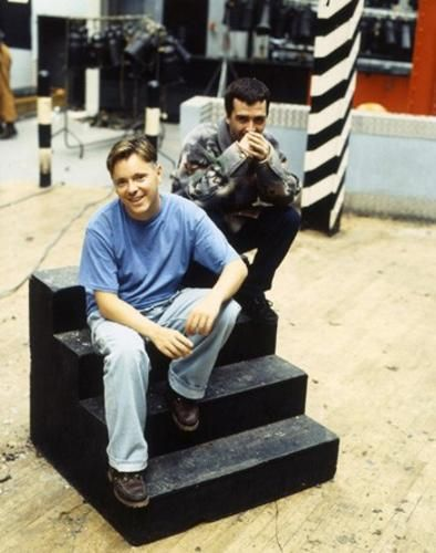 Bernard Sumner and Johnny Marr (Electronic)