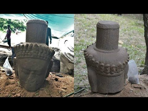 Close Encounters UFO: Archaeologists Have Found an Ancient Statue at Cam...