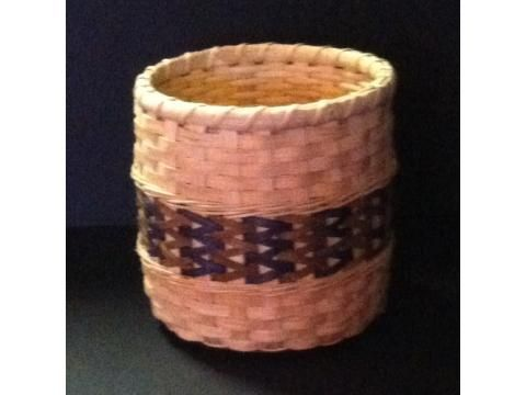 Double Wall Herringbone Basket - Wild Horse Treasures