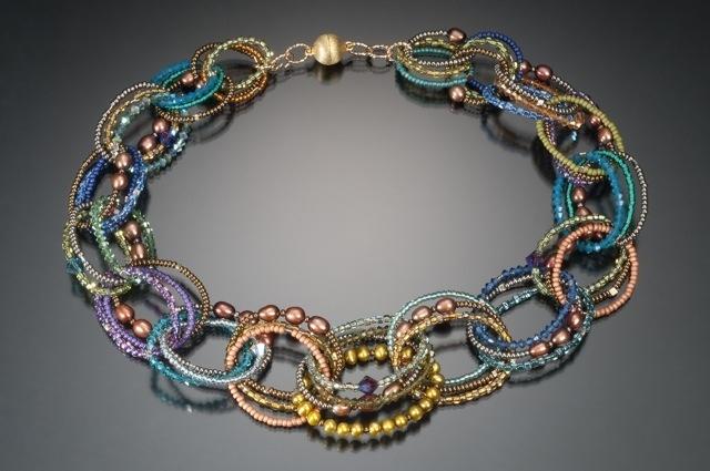 Circle Necklace, Lynne Sausele