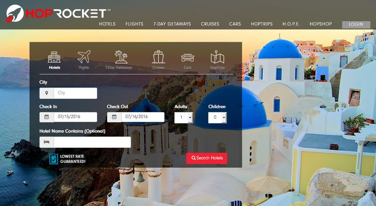 HopRocket the new portal for you're next Wholesale hotel booking