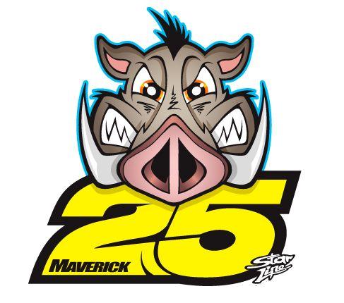 Maverick Viñales Logo 2013