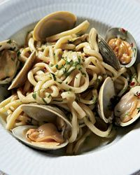 Spaghetti with Clams and Garlic Recipe from Food & Wine