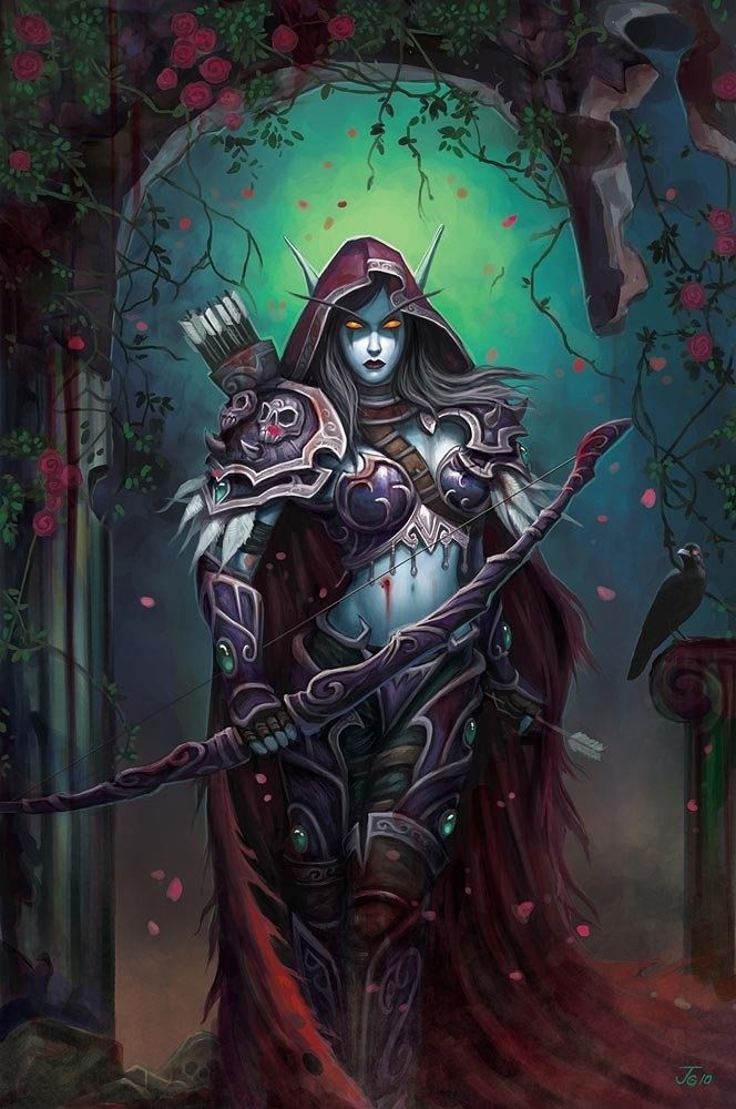 Sylvanas, my favorite.                                                                                                                                                      More