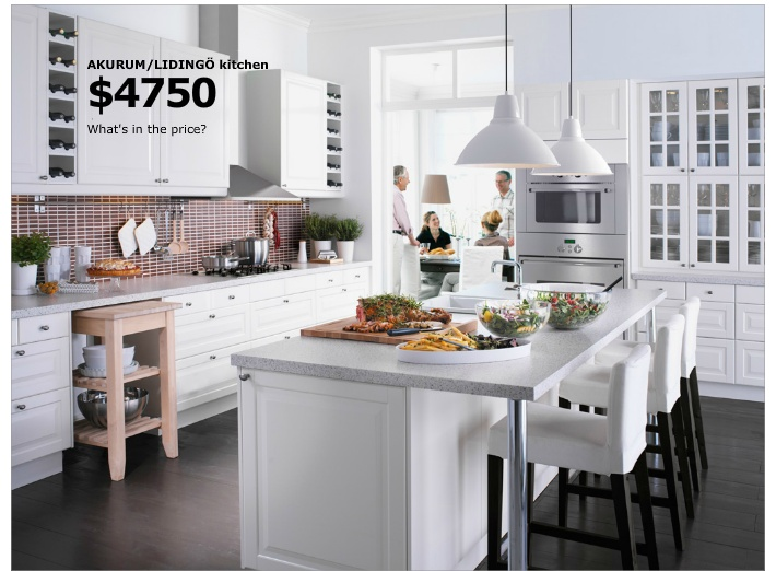 IKEA kitchen island, pull out cart, butler pantry
