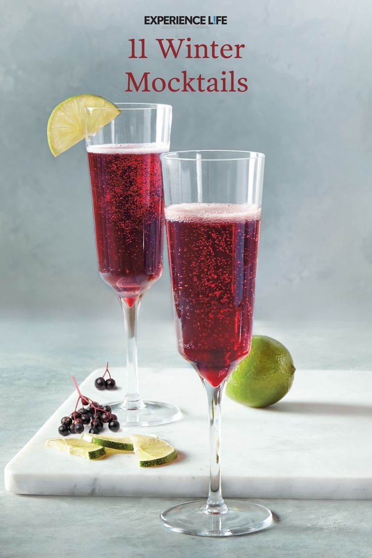 Festive And Healthy Beverages Winter Mocktails Mocktails Alcohol Free Drinks