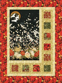 MOUNTAINPEEK CREATIONS SIDELIGHTS QUILT PATTERN   GOOD WAY TO DRESS UP A PANEL.
