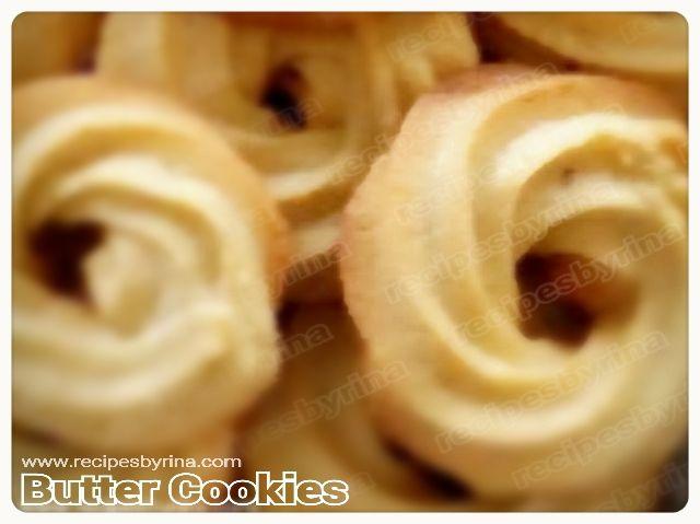 Rina Laurence: Danish Butter Cookies   Kue Monde