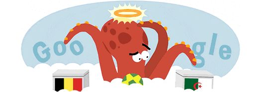 Pin for Later: The Cutest World Cup Google Doodles You Might Have Missed Paul the Octopus