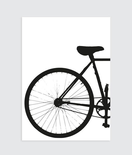 Deze fiets poster past perfect in jouw industriële interieur! Al verkrijgbaar vanaf 11,95 en natuurlijk gratis verzending.