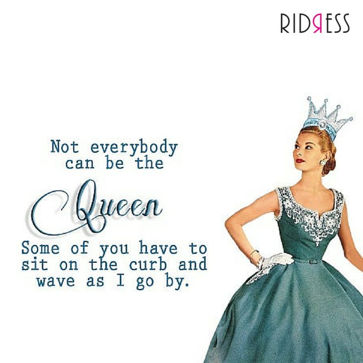 For the Queen you, share it if we are talking about you here wink emoticon