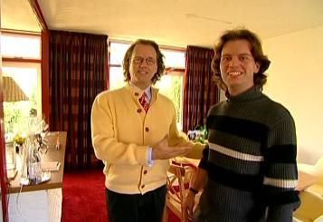 Andre Rieu with son Marc