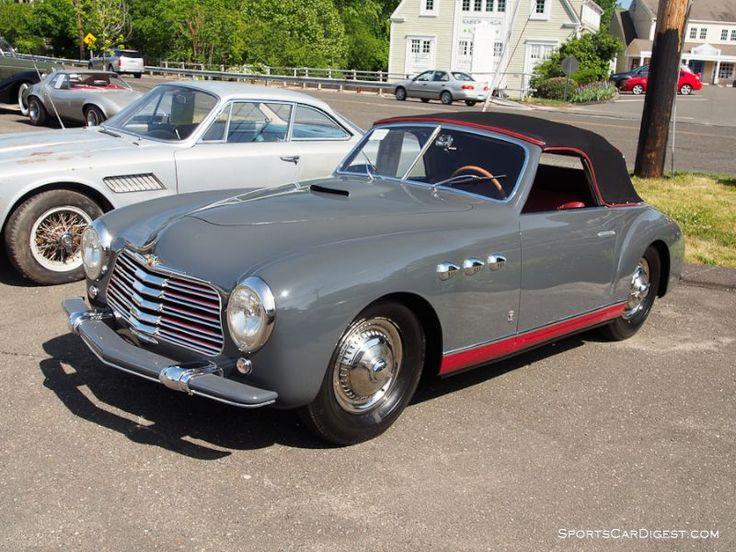 1951 Simca-Abarth SC Cabriolet by Stablimenti Farina