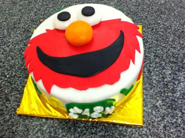 Cake Decorations Elmo : Elmo fondant cake Cake Decoration (pasteles+cupcakes ...
