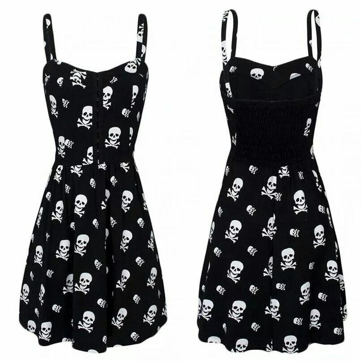 http://www.rebelcircus.com/women-s-skull-x-bones-with-smocked-black.html