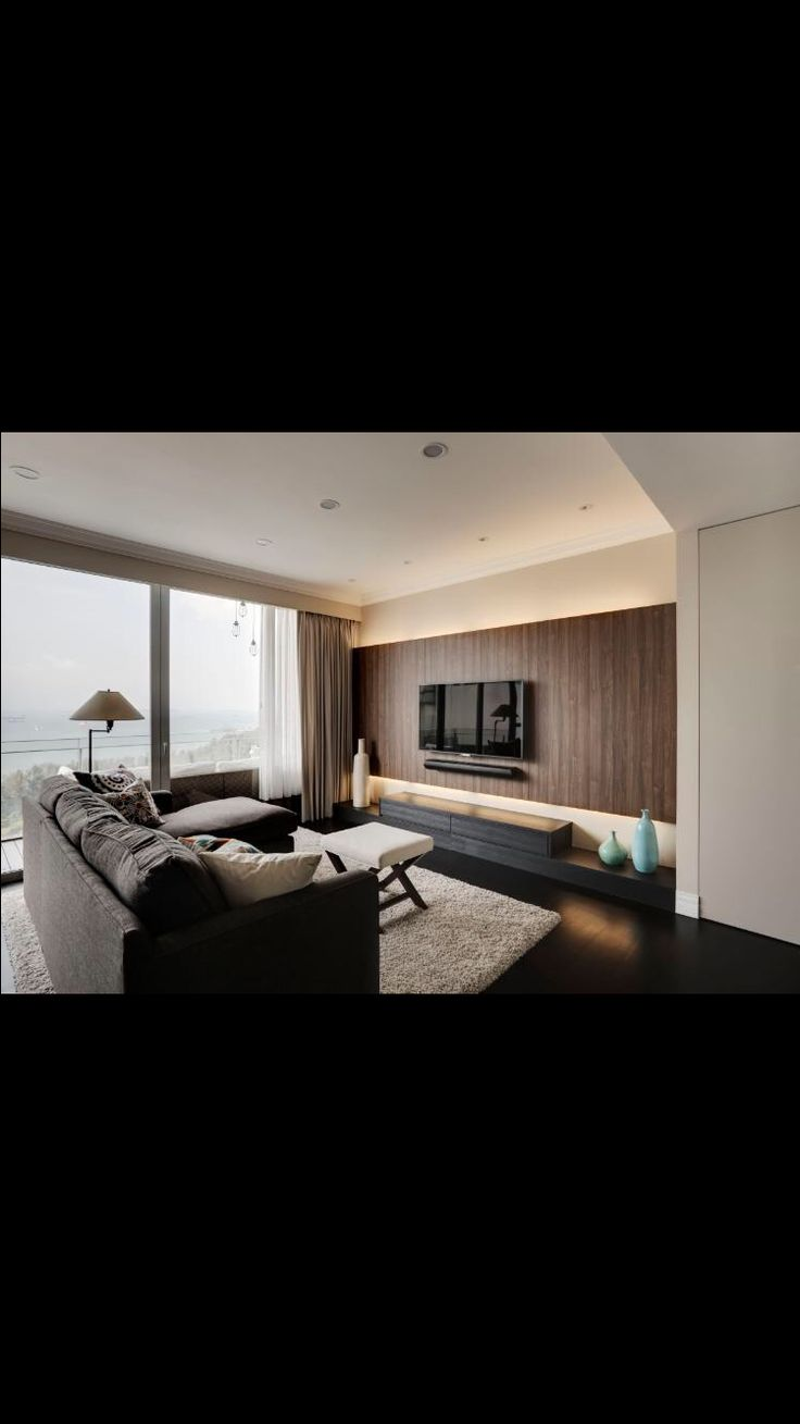 Tv feature wall