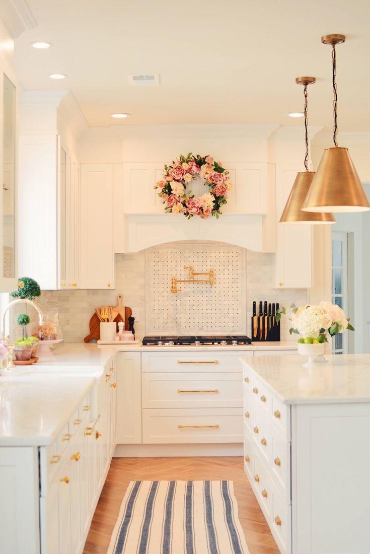 best KITCHEN WHITE images on Pinterest  Kitchens My dream home