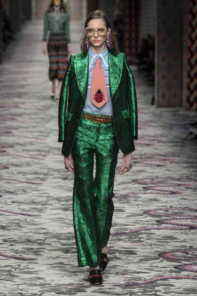 #Gucci Primavera-Verano 2016 Milán Fashion Week #MFW #fashion #style #runway