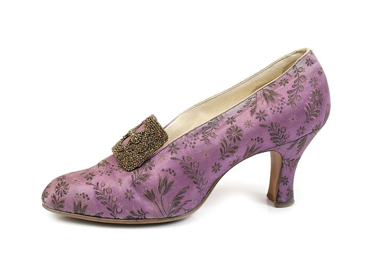 Lavender colored heels