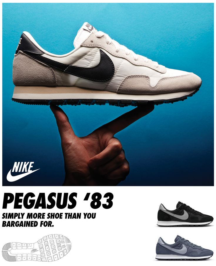 Nike Pegasus 83 #nike #pegasus #retrorunning  http://www.prodirectselect.com/