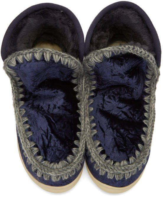 985a318033d Mou Blue Eskimo Sneaker Boots  Blue Mou Eskimo
