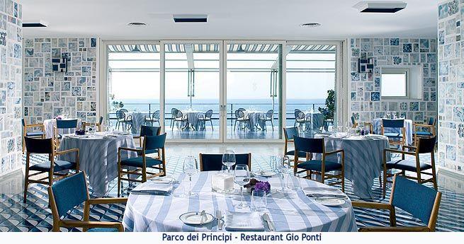47 best gio ponti parco dei principe sorrento images on for Design hotel naples italy