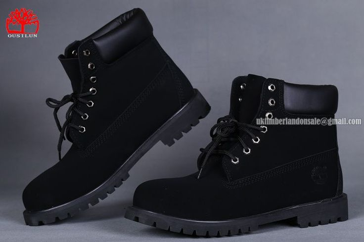 All Black Timberland Men's 6 Inch Waterproof Boot On Sale $ 80.00