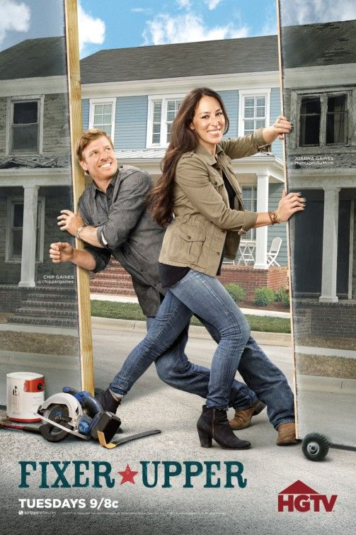 Fixer Upper. I absolutely LOVE  not only EVERYTHING they do on this show but I love how sweet they are together ❤️