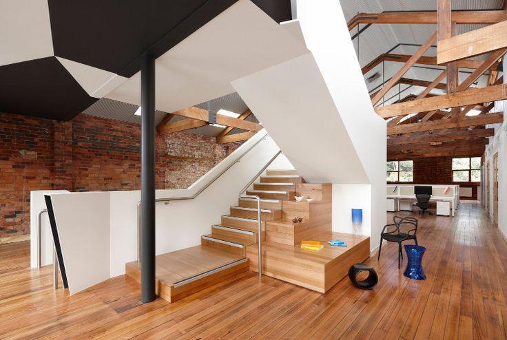 Corporate Interior - Paper Stone Scissors RUSSELL & GEORGE