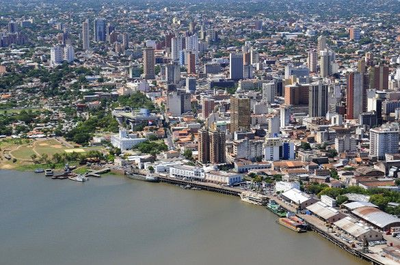 Asuncion, Paraguay...a place that will FOREVER have a huge piece of my heart. Would LOVE to go back one day and learn about where I'm from. =)