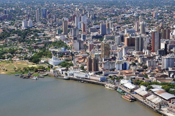 Bahia de Asunción - Centro de la ciudad
