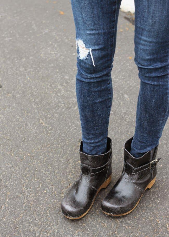 Sanita clog boots sabots ✅