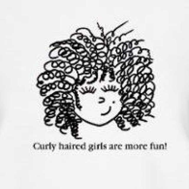 ...curly haired girls