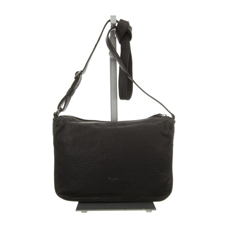 NEU: Voi Leather Design Handtaschen RV-Tasche - 30422 SZ - schwarz -