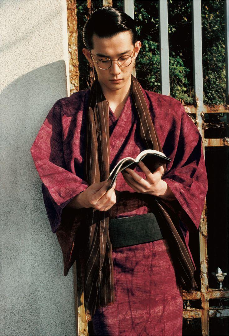 kawaii kimono: yukata (mens)