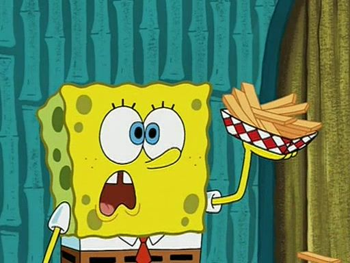 Spongebob French Fries Wwwbilderbestecom