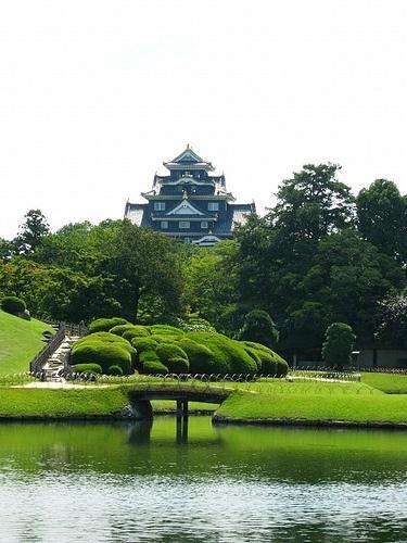 Okayama Castle & Korakuen Garden #japan #okayama