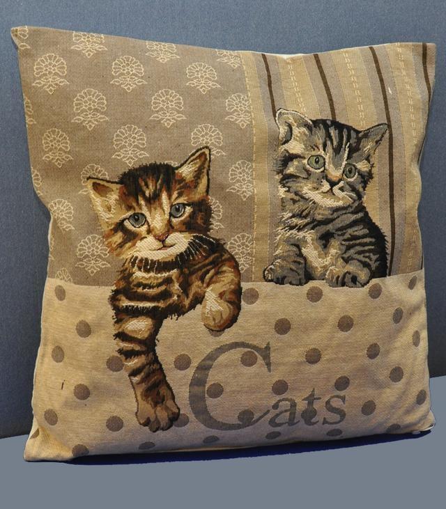 tyyny 19,60€, muutkin tälläiset kissatyynyt käyvät