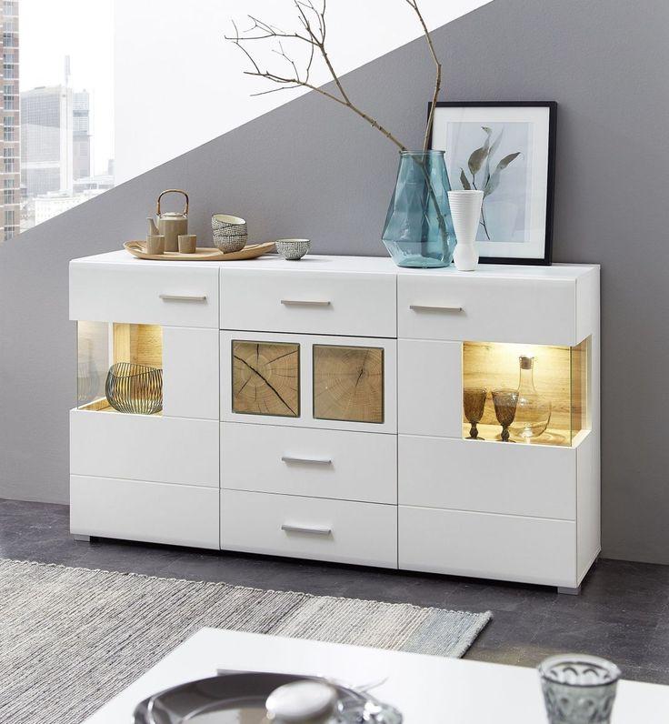 die besten 25 sideboard weiss ideen auf pinterest sideboard ikea ikea konsolentisch und ikea. Black Bedroom Furniture Sets. Home Design Ideas