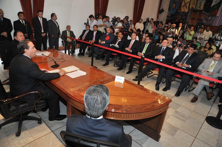 Duarte de Ochoa insistió en que su preocupación fundamental es responder a Xalapa con acciones concretas y directas para atender las demandas elementales de la sociedad.