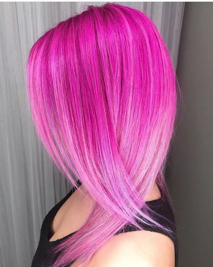 @justinedeal is the artist... Pulp Riot is the paint. #pulpriothair #neon #haircolor #pinkhair